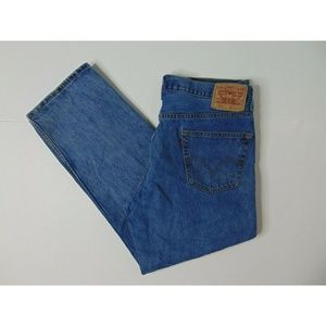 Levi's 550 36 X 30 Relaxed Fit Jeans Straight Leg